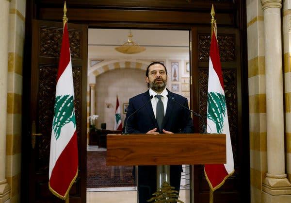 LE PROTESTE MONDIALI FANNO CADERE LA PRIMA TESTA: HARIRI IN LIBANO SE NE VA