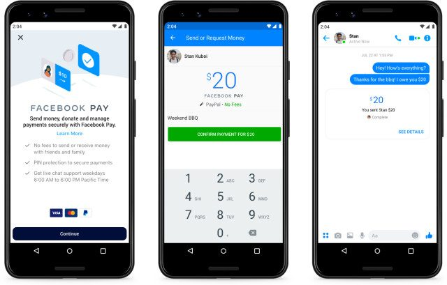 FACEBOOK: LIBRA ADDIO, ARRIVA FACEBOOK PAY