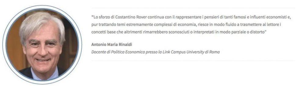 أنطونيو ماريا رينالدي مقدمة كتاب الاقتصاد شرح بسهولة