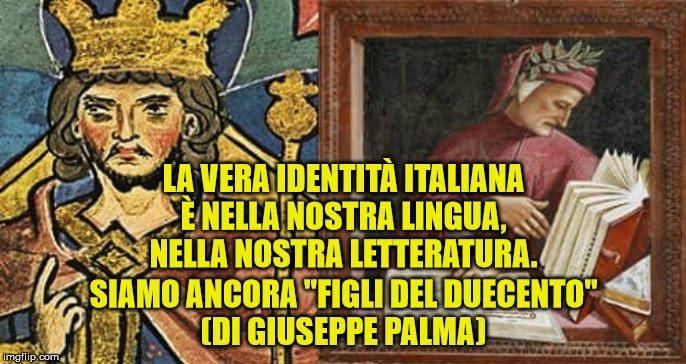 VIDEO – L'identità italiana nella lingua di Dante e Federico II (di Giuseppe Palma)