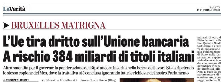 OGGI SI DECIDE E L'ITALIA RESTERA' NELL'EURO O MENO. Segnatevi la data.  Gualtieri farà lo gnorri?