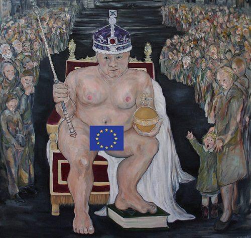 Il Re europeo è nudo.