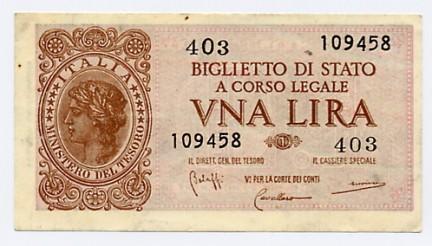 Quando l'Italia aveva tre monete di carta – e chi vinse (Saba)
