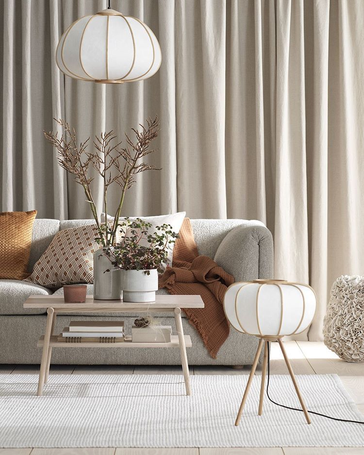 H&M Home collection, great choice for light fixtures for home staging