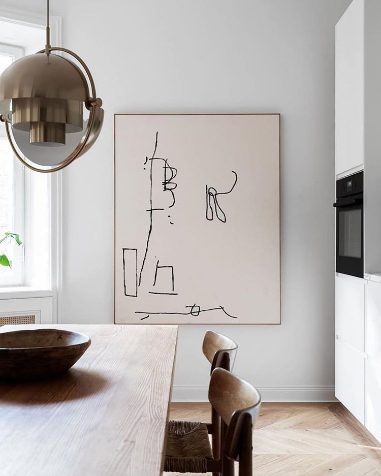 iconic pedant lamp, light fixture for home staging
