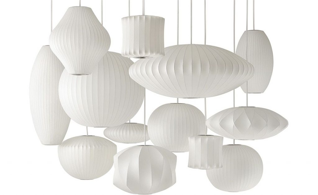 George Nelsons Bubble Lamps