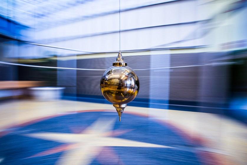 The pendulum in the ISC.