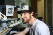 Oliver Horowitz '13 on the air at WGSU