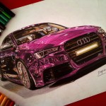 Drawings Of Ultra Shiny Automobiles Scene360