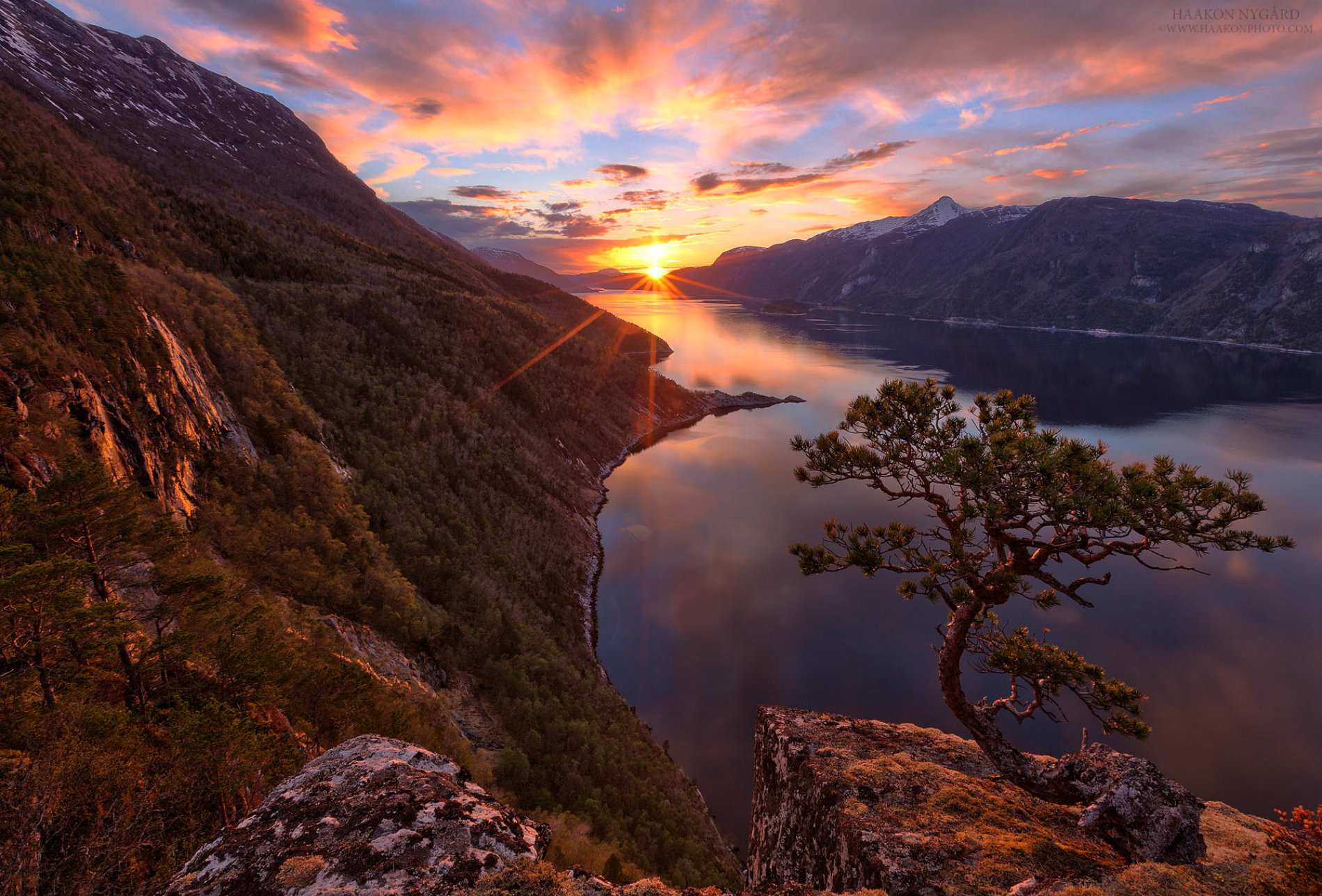 Colorful Fall Scene Wallpaper The Magic Of Norway S Landscape Scene360