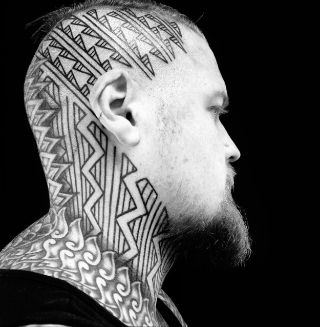 curlytattoo-16 The Freehanded Blackwork of Curly Moore entertainment