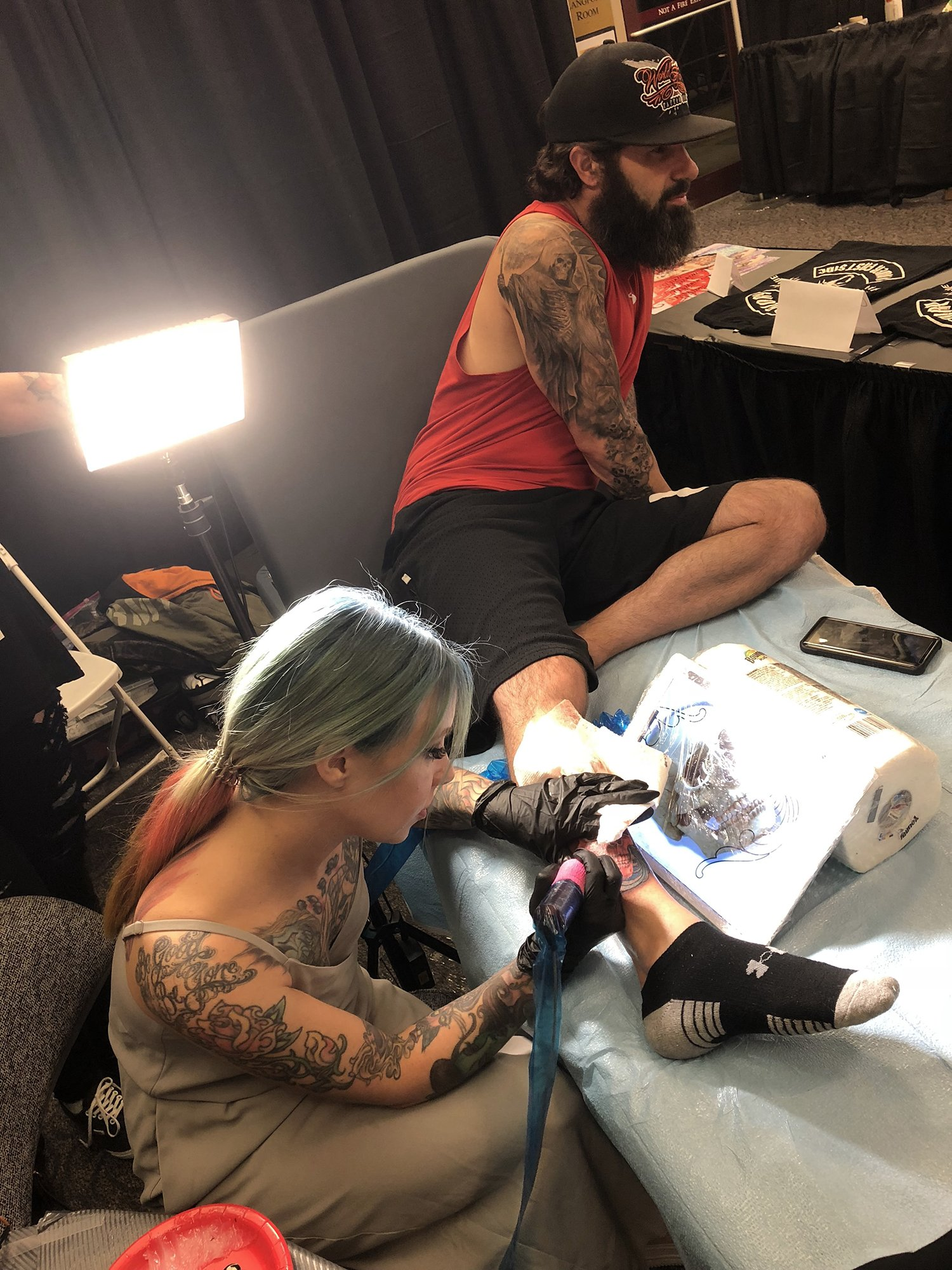 Lil Van Tattoo Artist Burns : tattoo, artist, burns, Tattoo, Artist, Design