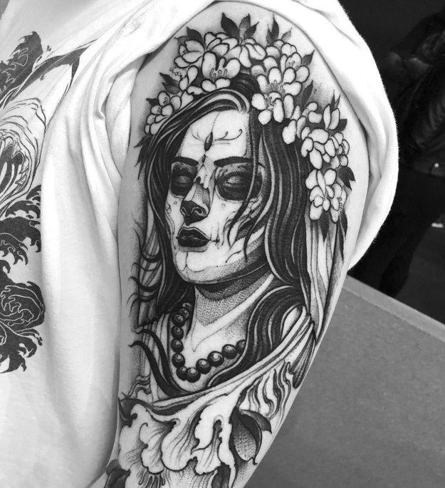 bruno-santos-tattoo-01 Illustrative Tattoos by Footballer-Turned-Tattooer Bruno Santos entertainment