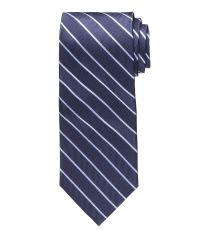 Executive Wide Repp Thin Stripe Tie | Blogdrive