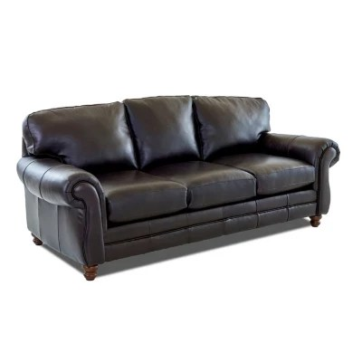 leather couch and chair lift chairs recliners covered by medicare furniture sam s club klaussner vaughn sofa brown