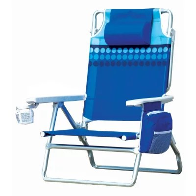 nautica beach chairs snap on chair glides tonal dot 5 positions aluminum frame