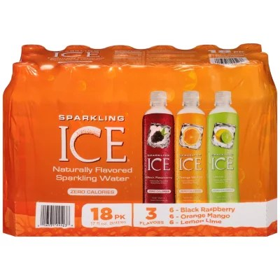Sparkling Ice Ehanced Flavored Water 18 17 Oz  eBay