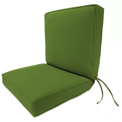 boxed chair cushions stacking dining chairs deep seating cushion w box seat welt and ties many