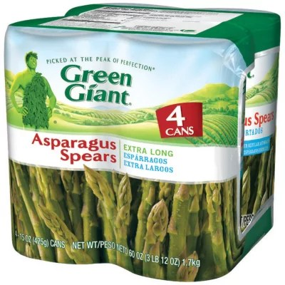 Green Giant Asparagus Spears 415 oz cans eBay