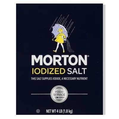 morton iodized salt 4 lbs