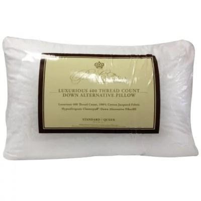 down alternative pillow 2 pk