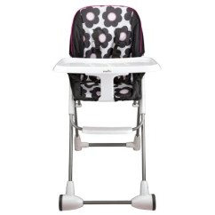 Booster High Chairs Stand Up Chair For Elderly Seats Sam S Club Evenflo Symmetry Flat Fold Choose Your Color
