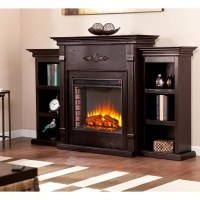 Emerson Electric Fireplace (Choose Color) - Sam's Club