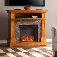 Millsboro Electric Fireplace Media Console - Sam's Club