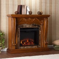 Marlena Electric Fireplace - Walnut - Sam's Club