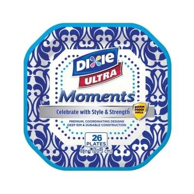 Dixie Ultra Moments 8quot Paper Plates 26ct 6pk Sam39s