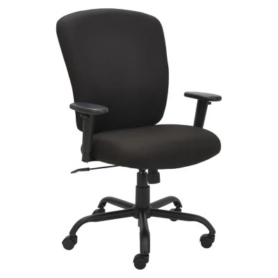 la z boy martin big and tall executive office chair brown black leather a half with ottoman sam s club alera mota series