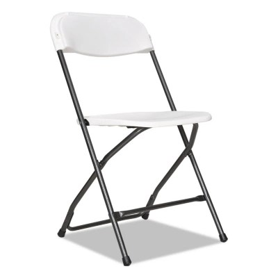 resin folding chairs for sale chair covers ontario sam s club alera economy white black anthracite 4 pack