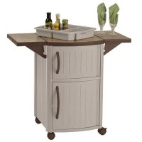Suncast Serving Station Patio Cabinet - Sam's Club
