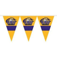Lsu Folding Chairs Outdoor Lounge Chair Sale Ncaa Tigers Party Pennant (save Now) - Sam's Club