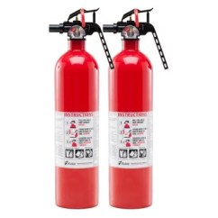 Kidde Kitchen Fire Extinguisher Lowes Trash Cans Pack Of 6 Extinguishers 1a10bc Home Office