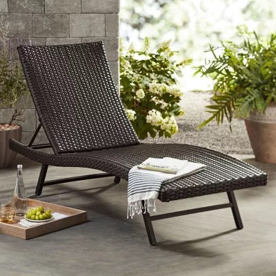 member s mark agio heritage chaise lounge chair