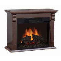 "Electric Fireplace with 33"" Mantle - Sam's Club"