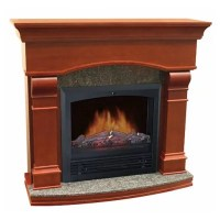 "Electric Fireplace with 47"" Mantle - Sam's Club"