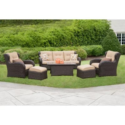 zero gravity chair with side table tommy bahama beach chairs and umbrella member's mark® heritage deep seating set review - patio furniture sale 2014