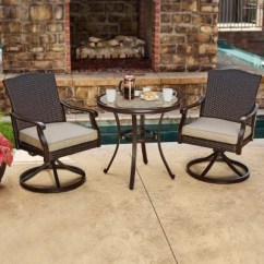 3 Piece Outdoor Table And Chairs Custom Indoor Chair Cushions Furniture Sets For The Patio Sam S Club Member Mark Agio Heritage Bistro Set
