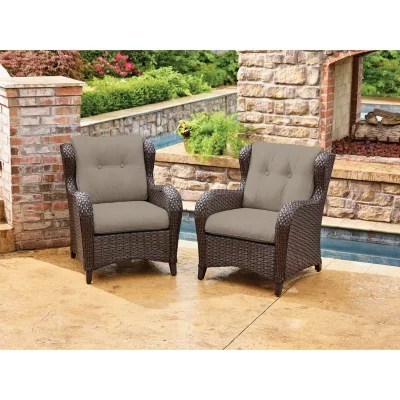 patio club chair lift chairs covered by medicaid outdoor daybed lounges sam s member mark agio heritage sunbrella woven