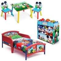 Delta Children Mickey Mouse 3-Piece Toddler Bedroom Set ...