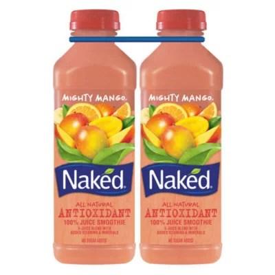 Naked Mighty Mango Juice Smoothie 232 oz Sam39s Club