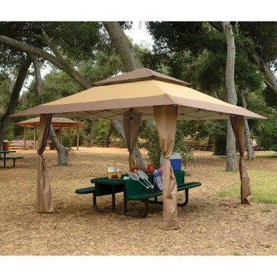 Backyard Gazebo Outdoor Pergola Gazebos 13' X Tent