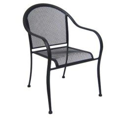 Wrought Iron Chair Tribecca Home Mendoza Keyhole Back Dining Chairs Commercial Bistro