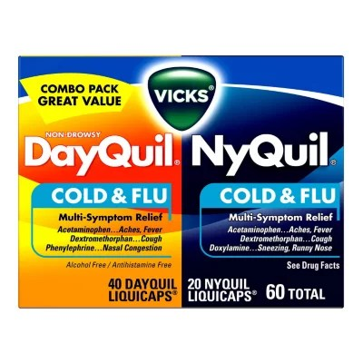 vicks dayquil nyquil softgels