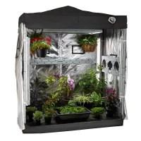 Indoor Greenhouse Grow Light Tent Garden Kit Hydroponic ...