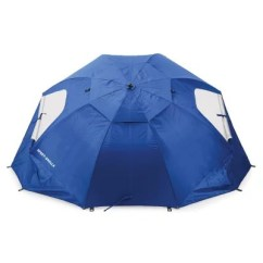 Portable Beach Chair With Umbrella Covers For Hire Glasgow Blue 8 39 Wide Sport Brella All
