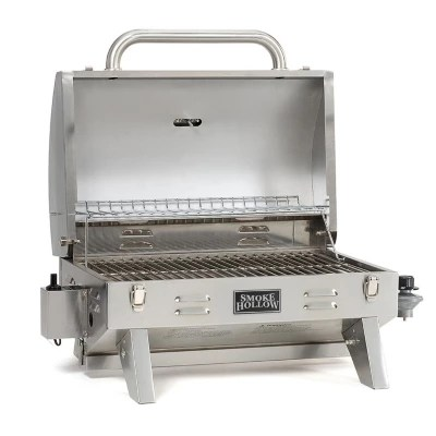 Portable Stainless Steel Gas Grill Tailgate Camping Grill