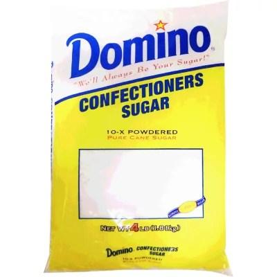 Domino X10 Powdered Sugar 4 lbs Sam39s Club